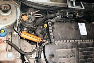 Reduzierung des Kraftstoffverbrauchs fiat sedici