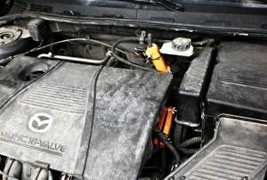 Reduzierung des Kraftstoffverbrauchs mazda 323 1,7