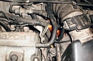 Reduzierung des Kraftstoffverbrauchs mazda 626 1,8