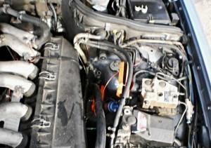 Reduzierung des Kraftstoffverbrauchs mercedes 212