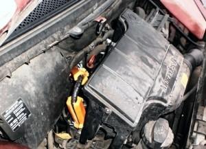 Reduzierung des Kraftstoffverbrauchs mercedes a160