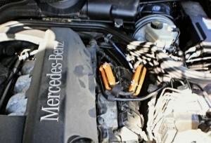 Reduzierung des Kraftstoffverbrauchs mercedes e320