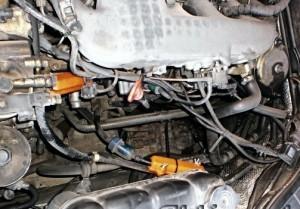 Reduzierung des Kraftstoffverbrauchs mercedes s320