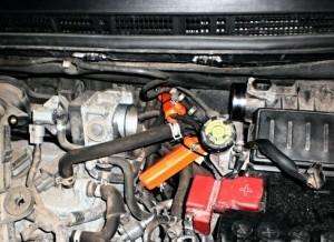 Reduzierung des Kraftstoffverbrauchs nissan note