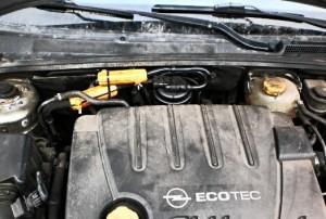 Reduzieren den Kraftstoffverbrauch opel vectra
