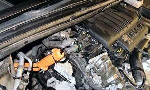Reduzierung des kraftstoffverbrauchs peugeot 806