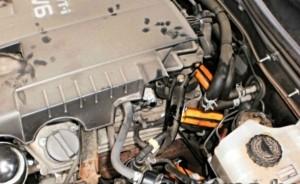 Verringerung des Kraftstoffverbrauchs toyota land cruiser 200