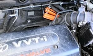 Verringerung des Kraftstoffverbrauchs toyota rav4 2,4
