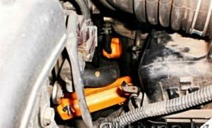 Verringerung des Kraftstoffverbrauchs toyota yaris 1,4tdi