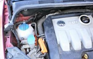 Verringerung des Kraftstoffverbrauchs volkswagen golf 1,9