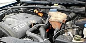 Verringerung des Kraftstoffverbrauchs volkswagen passat 2,5tdi