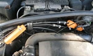 Verringerung des Kraftstoffverbrauchs volkswagen touran