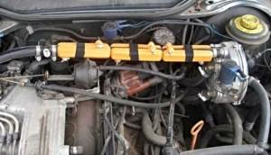 Reduzieren den Kraftstoffverbrauch audi 100 gas
