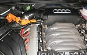 Reduzieren den Kraftstoffverbrauch audi v8