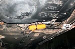 Reduzierung des kraftstoffverbrauchs citroen xantia