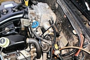Reduzierung des Kraftstoffverbrauchs ford escort 1,8