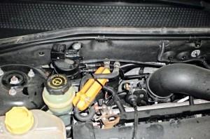 Reduzierung des Kraftstoffverbrauchs ford focus 1,6