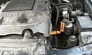 Reduzierung des kraftstoffverbrauchs hyundai terracan