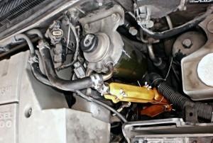 Reduzierung des Kraftstoffverbrauchs mitsubishi pajero 3,2