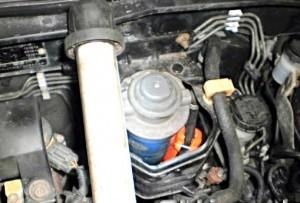 Reduzierung des Kraftstoffverbrauchs nissan almera 1,4