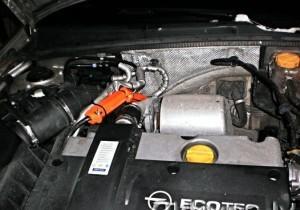 Reduzieren den Kraftstoffverbrauch opel astra 1,6i