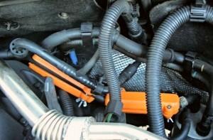 Reduzierung des kraftstoffverbrauchs peugeot 406