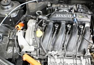 Reduzierung des kraftstoffverbrauchs renault logan
