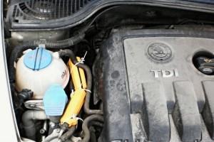 Reduzierung des kraftstoffverbrauchs skoda octavia
