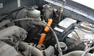 Verringerung des Kraftstoffverbrauchs toyota land cruiser 3.0