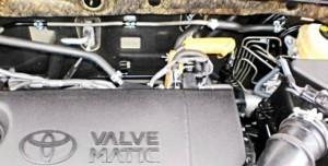 Verringerung des Kraftstoffverbrauchs toyota rav4 2,0 4wd
