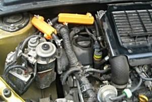 Verringerung des Kraftstoffverbrauchs toyota yaris