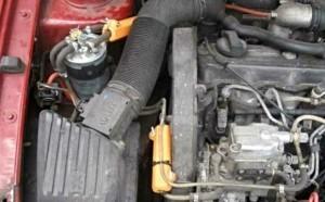 Verringerung des Kraftstoffverbrauchs volkswagen golf 1,6