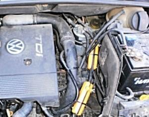 Verringerung des Kraftstoffverbrauchs volkswagen sharan 1,9