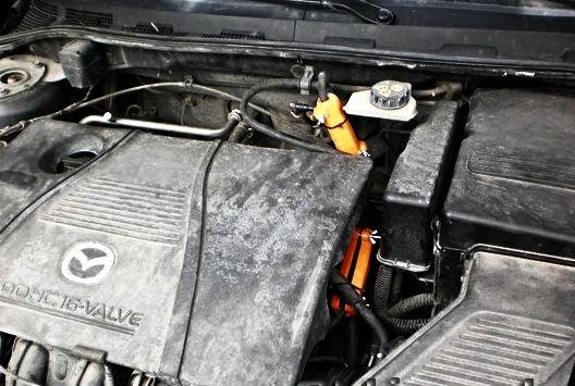 MAZDA. Reduzieren des Kraftstoffverbrauchs von Mazda