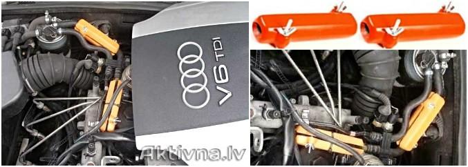 AUDI. Reduzieren des Kraftstoffverbrauchs von Audi