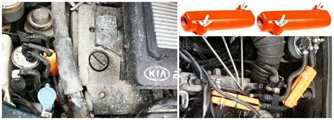 KIA. Reduzieren des Kraftstoffverbrauchs von kia