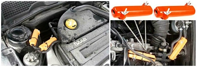 SAAB. Reduzieren des Kraftstoffverbrauchs von saab
