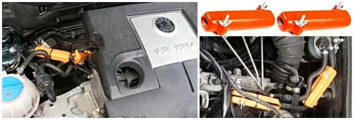 SKODA. Reduzieren des Kraftstoffverbrauchs von Skoda