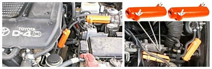 TOYOTA. Reduzieren des Kraftstoffverbrauchs von Toyota