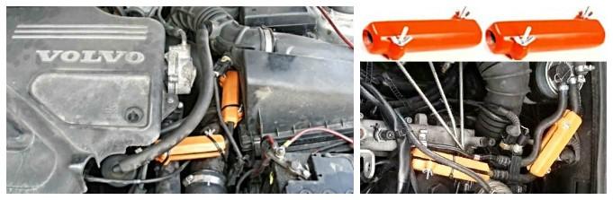 VOLVO. Reduzieren des Kraftstoffverbrauchs von Volvo